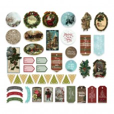 Couture Creations Highland Christmas - Diecut Ephemera Set